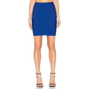 BCBG Royal Blue Pencil Skirt